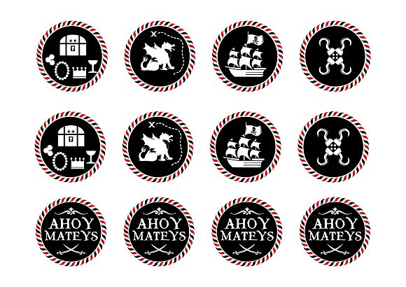 Pirate Birthday Party Template