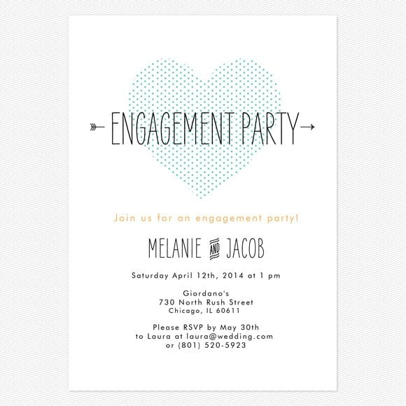 Printable Engagement Party Invitations Australia