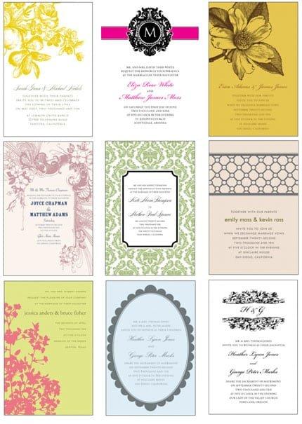 Printable Invitation Layouts