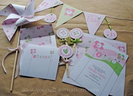 Printable Invitations Kits Free