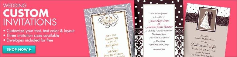 Printable Wedding Invitations Party City