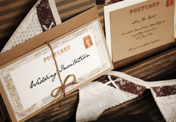 Retro Wedding Invitations Ideas