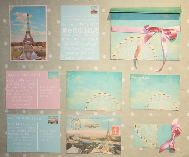 Retro Wedding Invitations Uk