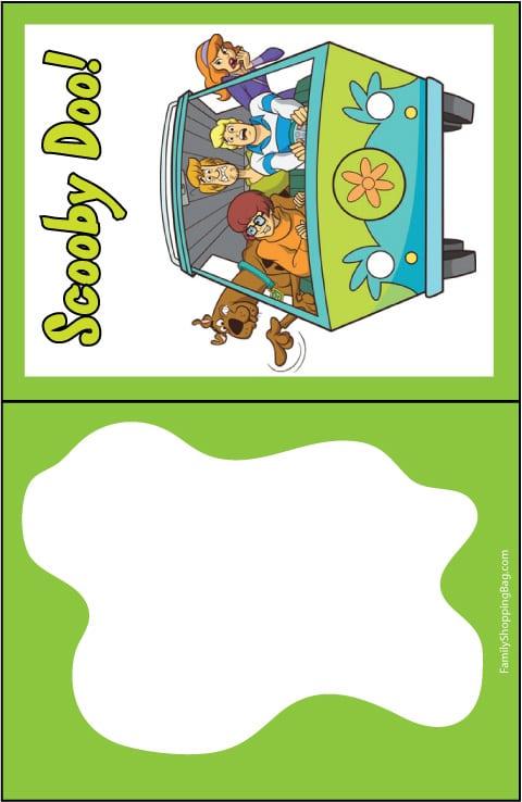 Scooby Doo Invitations Uk