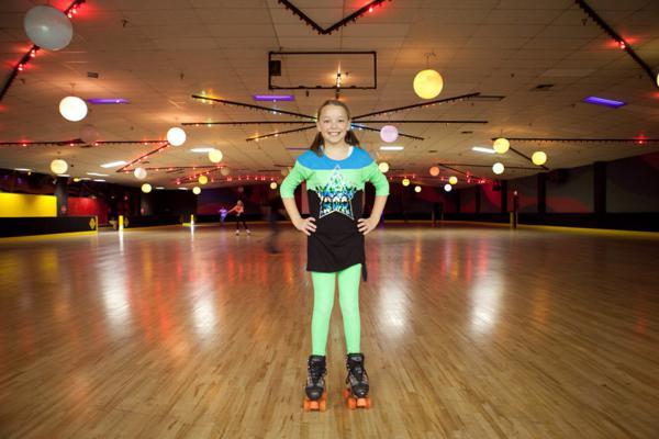Skating 11th Birthday Party Invitations