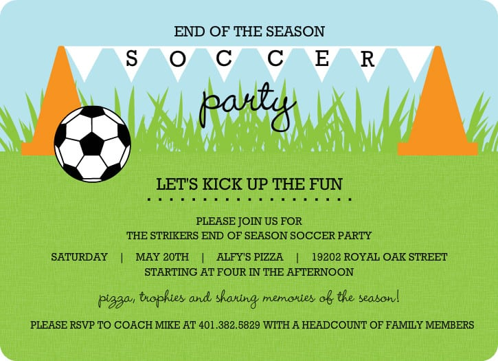 Football Invitation Wording for nice invitations template