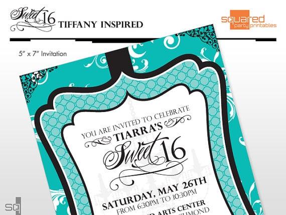 Sweet 16 Birthday Invitations Printable Free
