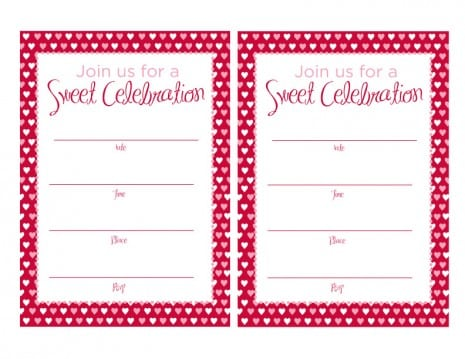 Sweet 16 Party Invitations Free Printables