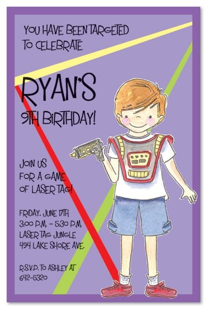 Tagbirthday Invitation Templates For Boy