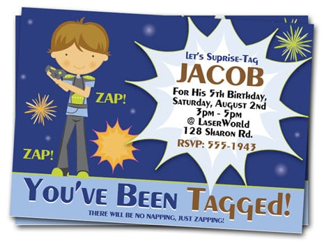 Tagbirthday Party Invites For Kids