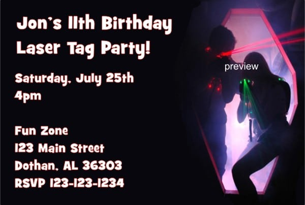 Tagbirthday Party Invites For Men