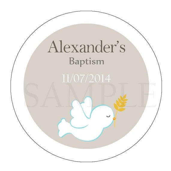 Tagboy Baptism Invitations