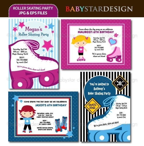 Tagdisco Party Ticket Invitations Template