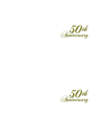 Tagfree Anniversary Invitations Templates