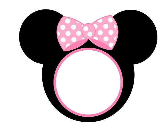 Tagfree Baby Minnie Mouse Invitations