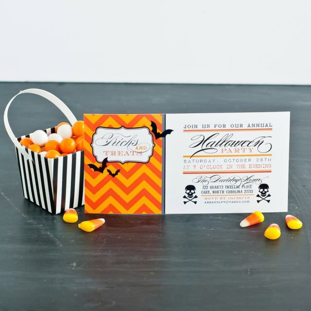 Tagfree Halloween Invitations Kids