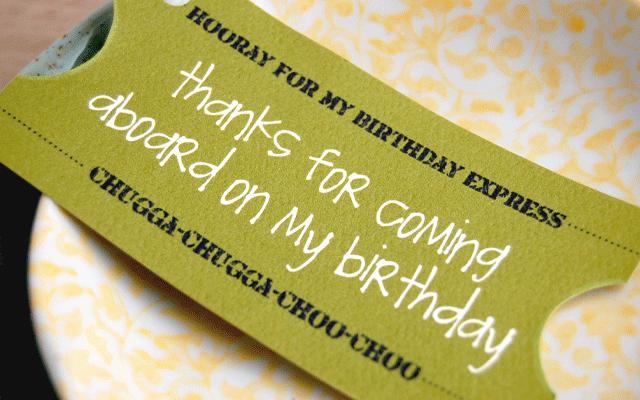 Tagfree Print Birthday Party Ticket Invitation Template