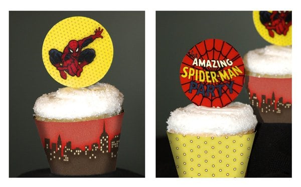 Tagfree Printable Downloadable Spiderman Invitations