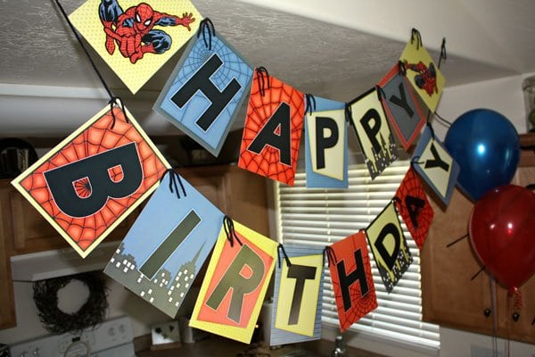 Tagfree Printable Spiderman Invitations Birthday Party