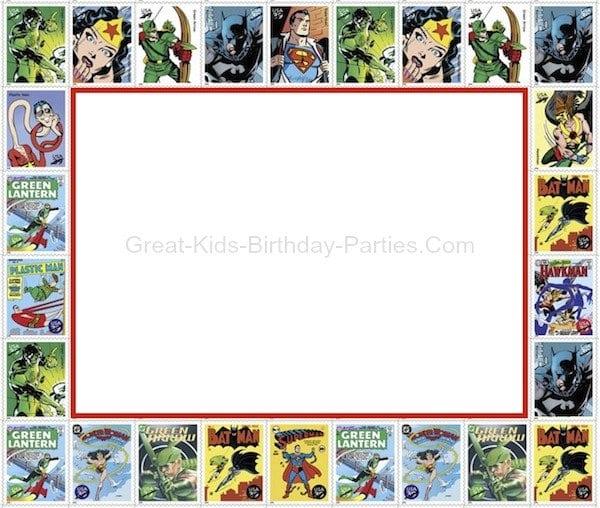 Tagfree Spiderman Birthday Invitation Templates