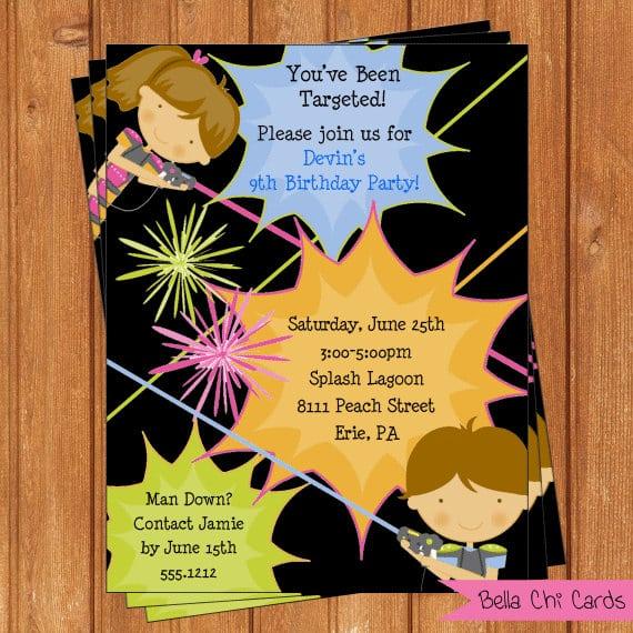 Tagkids Birthday Invitations Printable