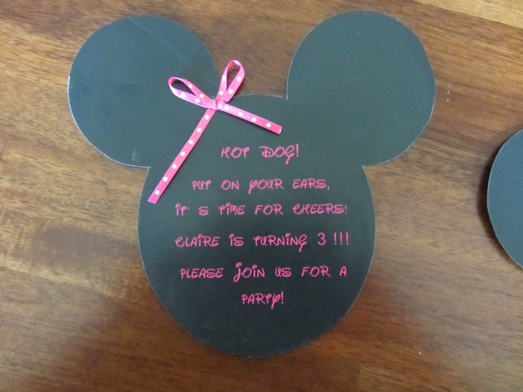 Tagmickeey Mouse Birthday Invitation Template