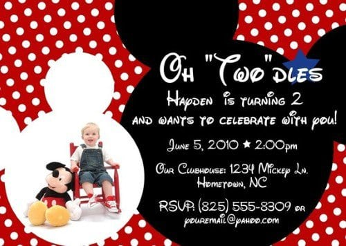 Tagmickey Mouse Clubhouse Invitation Free
