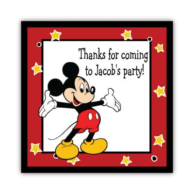 Tagmickey Mouse Invitation Birthday