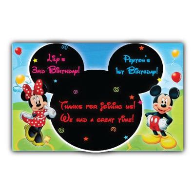 Tagmickey Mouse Invitations Free