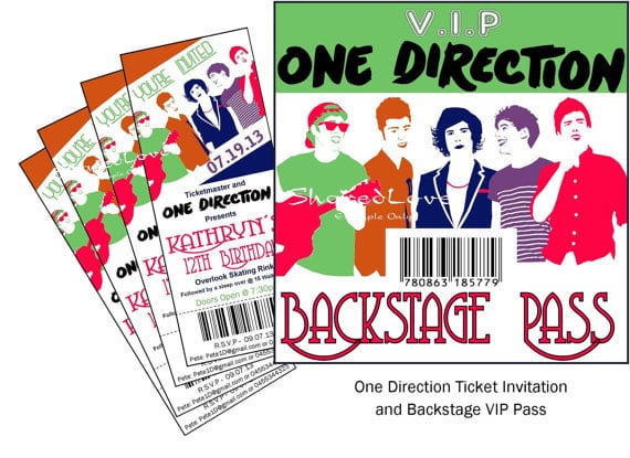 Tagone Direction Birthday Invitation Template
