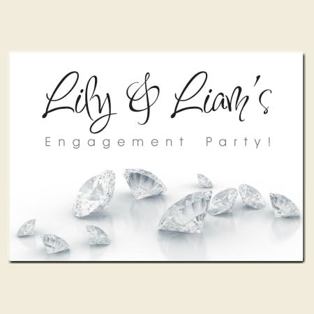 Tagprintable Engagement Party Invitations Free