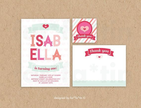 Tagprintable Party Invitation For Girls