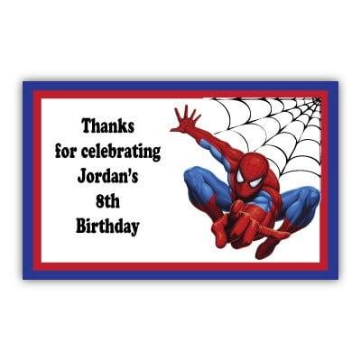 Tagspiderman Birthday Invitation Template