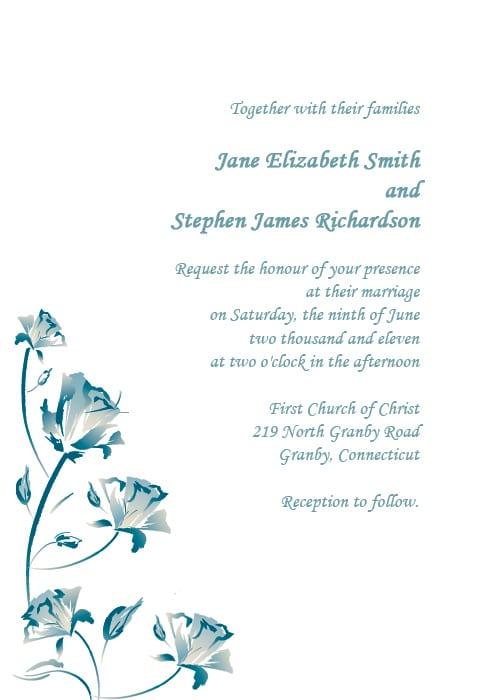 Tagwedding Invitation Free Printables