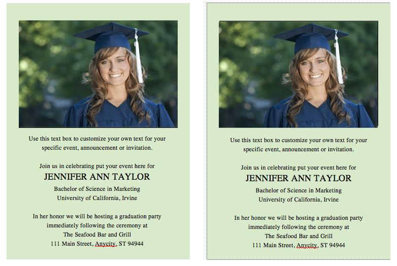 microsoft word graduation templates .