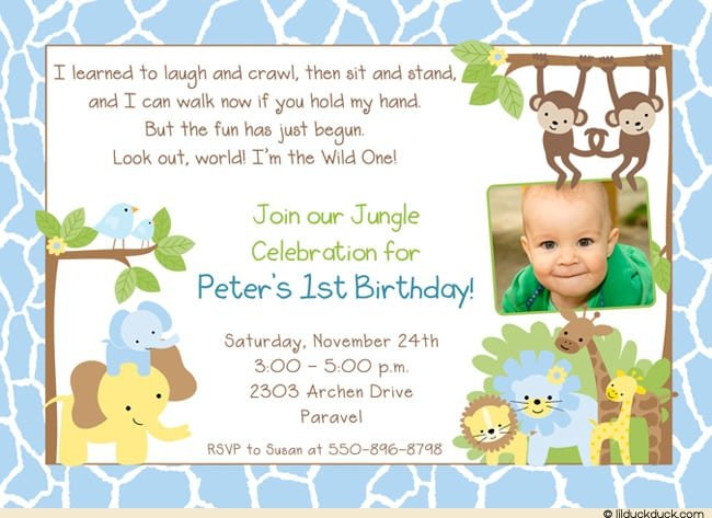 Toddler Birthday Invitations Designs