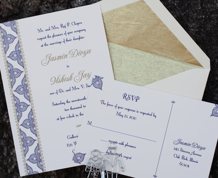 Traditional Invitation Cards For Weddings