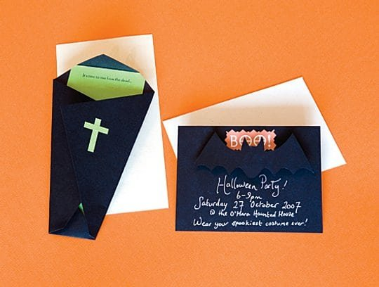 Unique Halloween Invitations