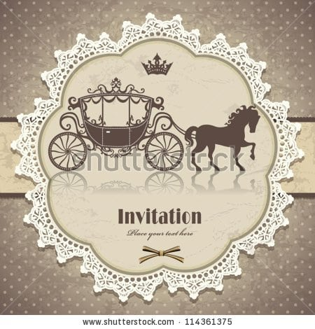 Invitations templates vintage invitations templates pronofoot35fo Choice Image