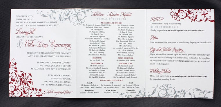 what to write on wedding card