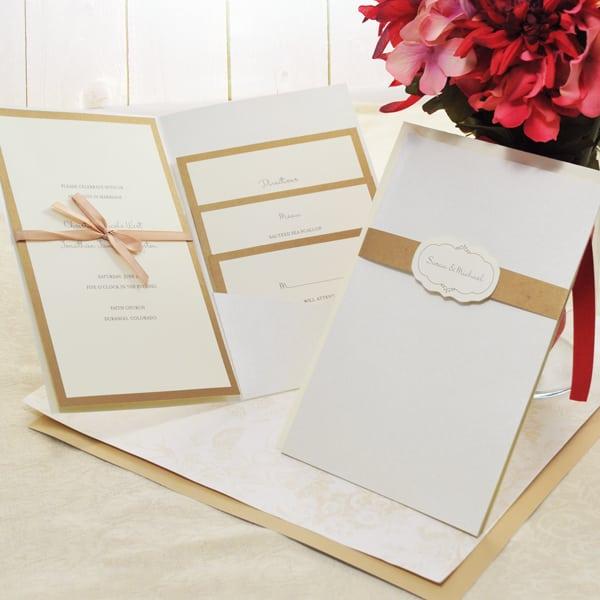 Wedding Invitations Kits Cheap