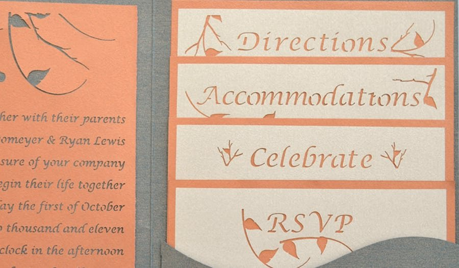 Wedding Invitations With Photo Insert