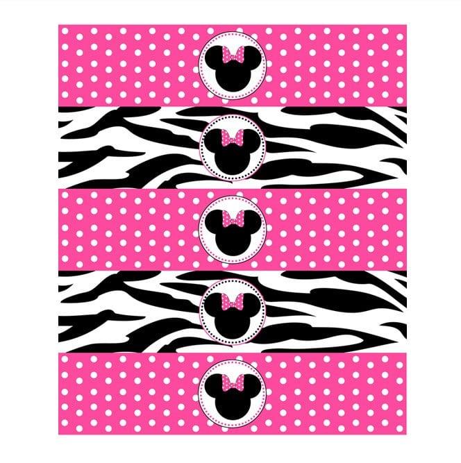 Zebra Print Birthday Invitation Free Download